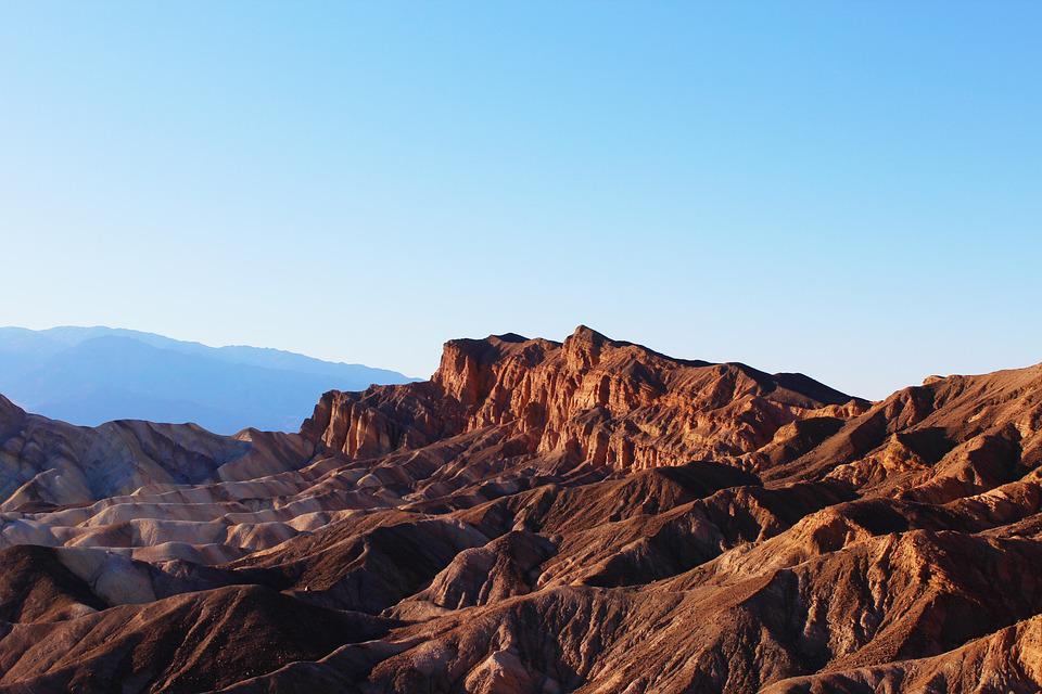 Barren, Dawn, Daylight, Death Valley