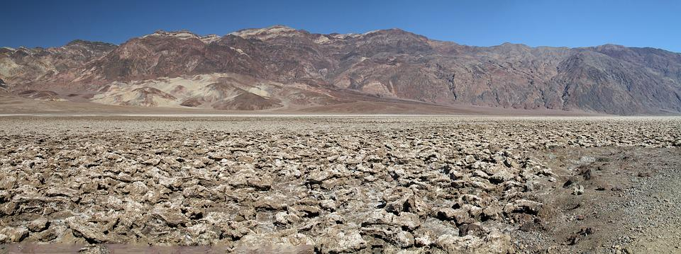 Death Valley, California, Low, Dry, Desert, National