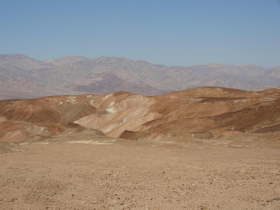 Death Valley, Mountain, Rock
