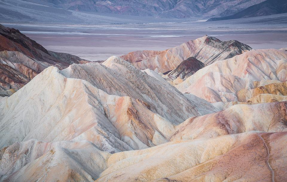 Death Valley, California, Desert, Mountains, Nature
