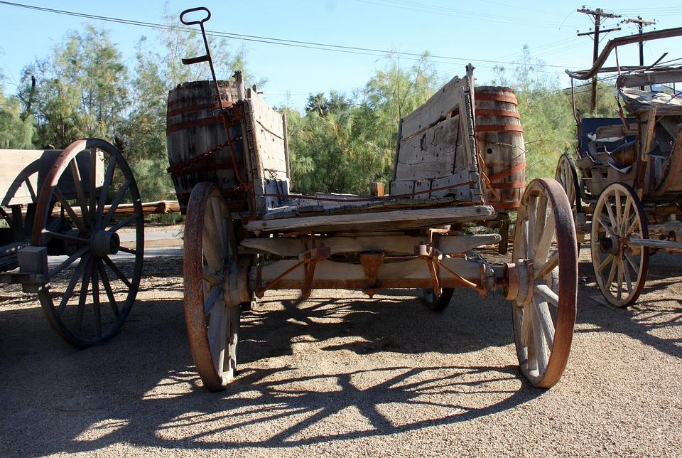 Death Valley, Mine, Wagon, National Park, Landscape