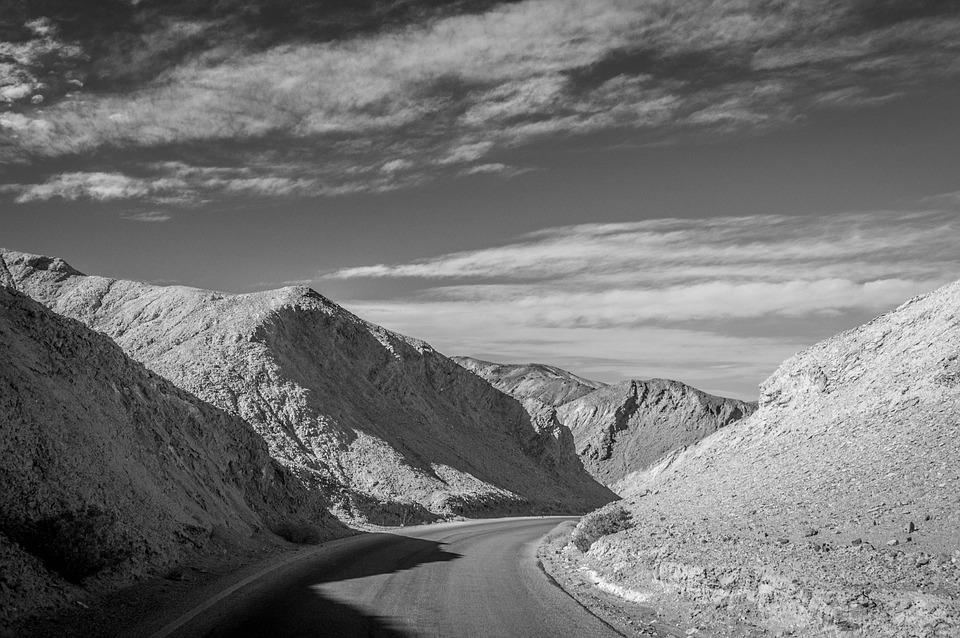 Road, Sky, Death Valley