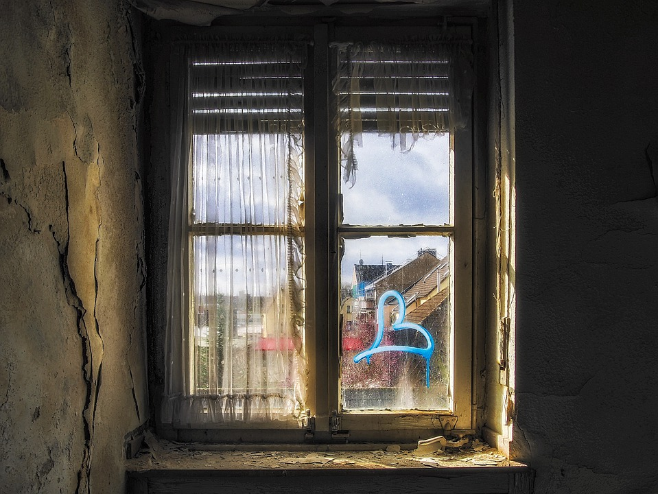 Lost Places, Window, Abandoned, Pforphoto, Old, Decay