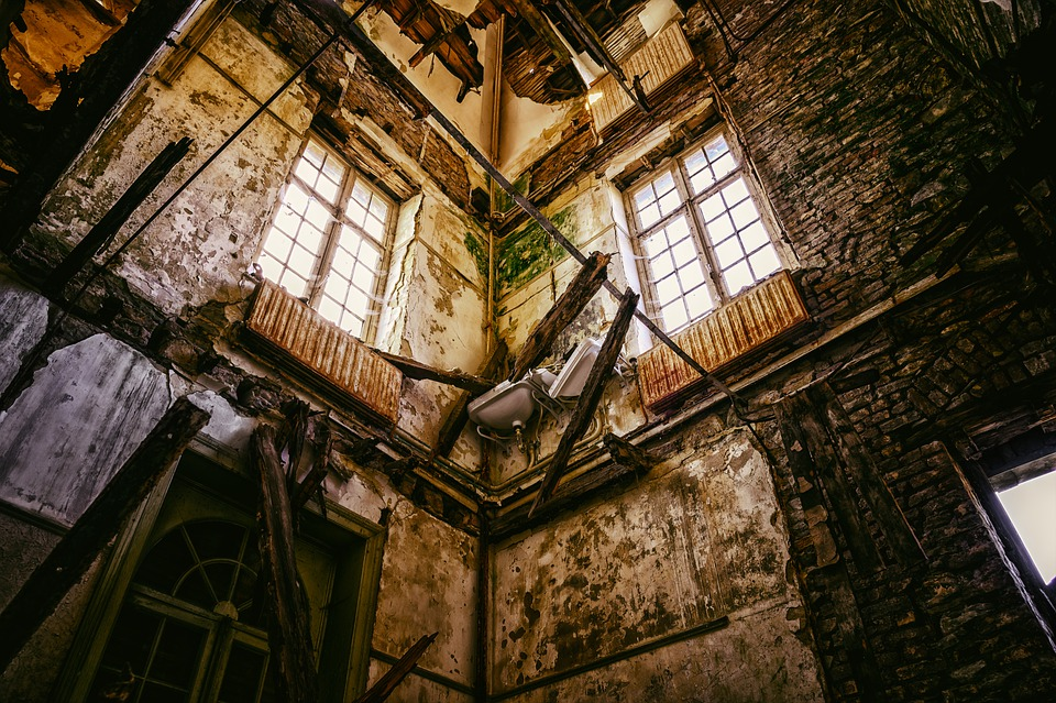 Abandoned Places, Decay, Broken, Ruin, Gloomy