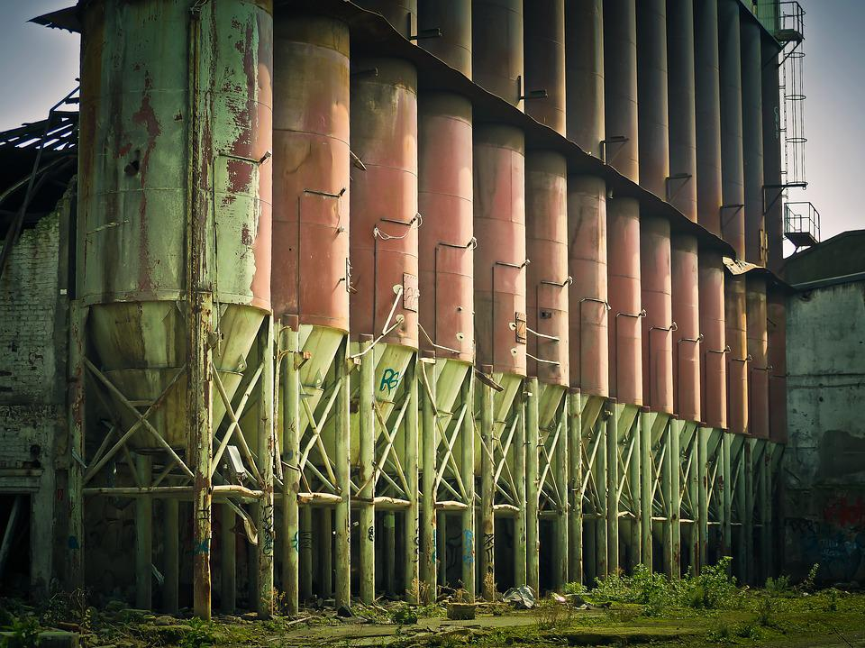Factory, Ruin, Old Factory, Leave, Lapsed, Decay