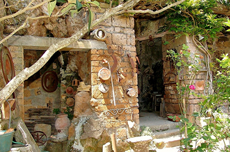 Italy, Ruin, Building, Old, Dilapidated, Decay, Magic