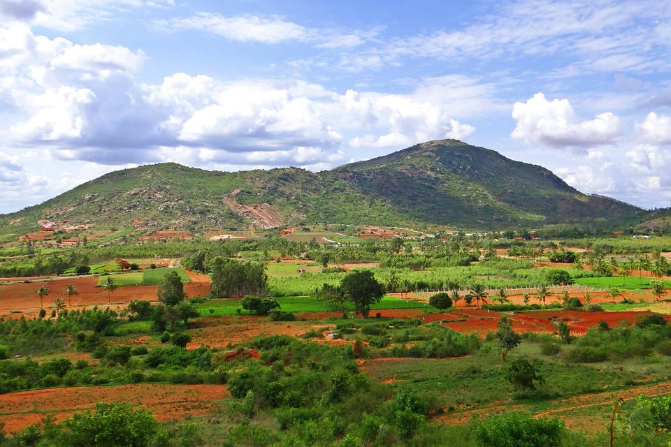 Nandi Hills, Deccan Plateau, Karnataka, India