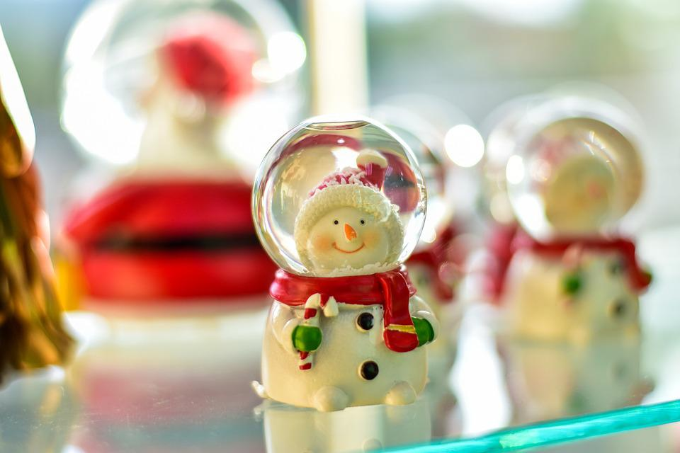 Christmas, Ornament Beautiful, Crystal Ball, December