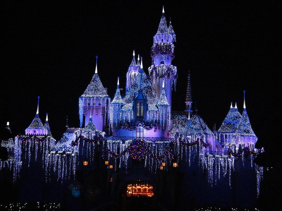 Disneyland, December, California