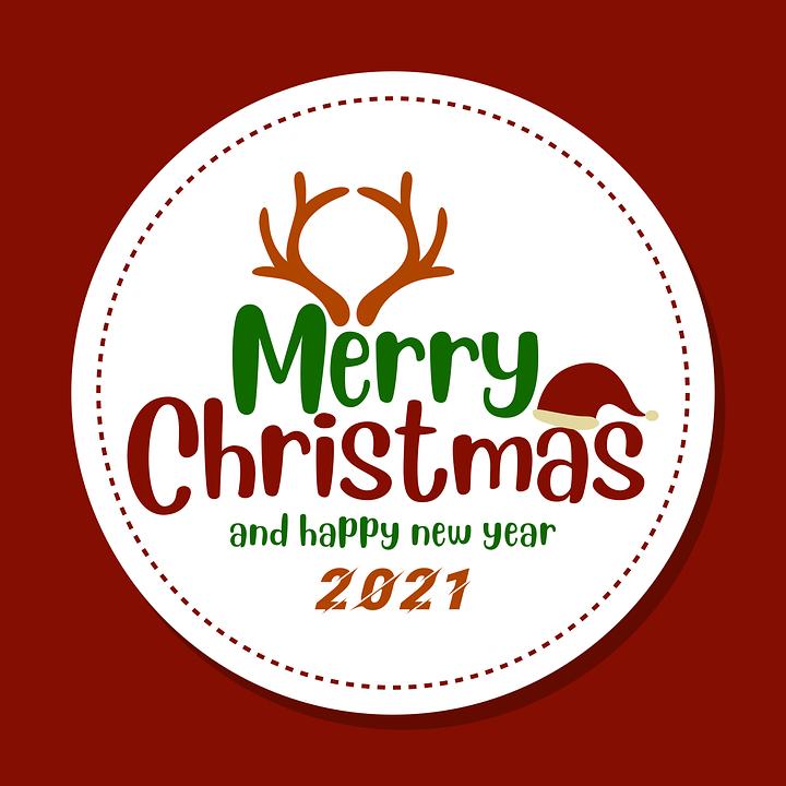Merry Christmas, Christmas Card, Decoration, December