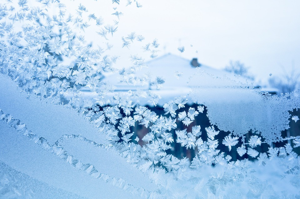 Winter, Frost, Window Patterns, Snow, Ice, December