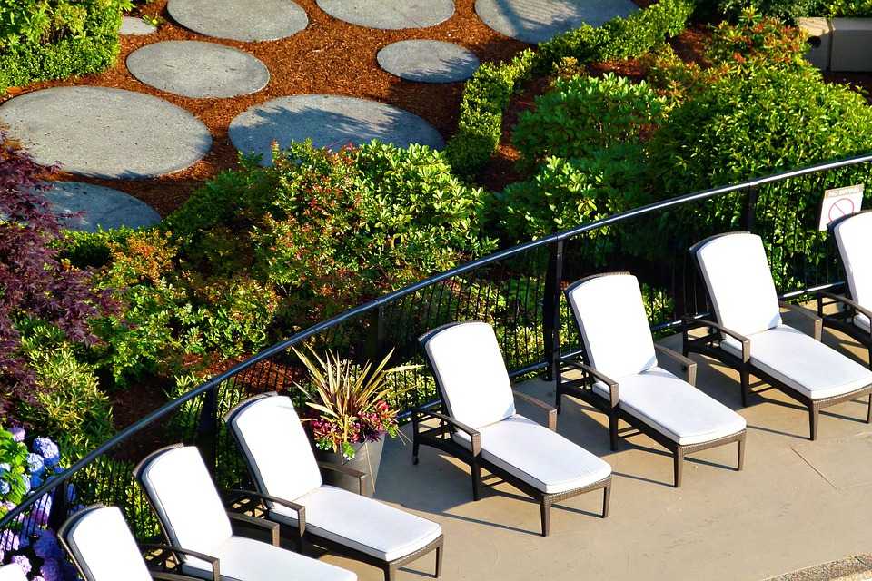 Chairs, Deck, Deck Chairs, Swimming Pool, Spa, Vacation