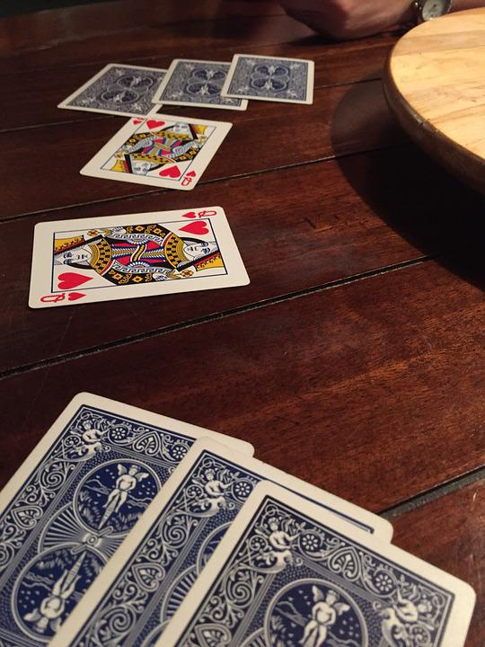 Cards, Queens, Game, Deck, Hearts