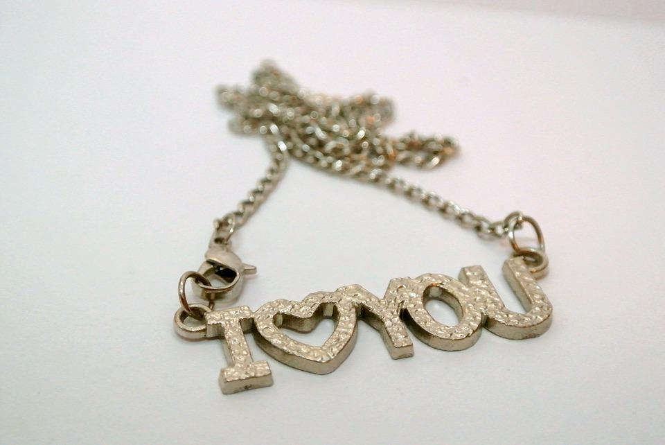 I Love You, Love, Declaration Of Love, Chain, Romantic