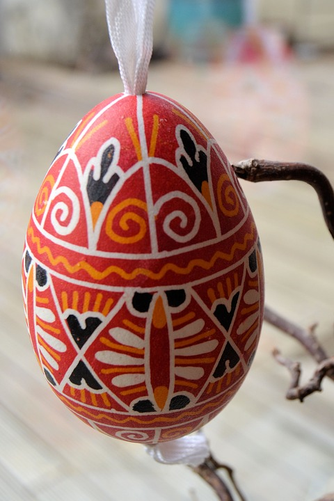 Easter, Easter Egg, Deco, Goose Egg, Art, Close