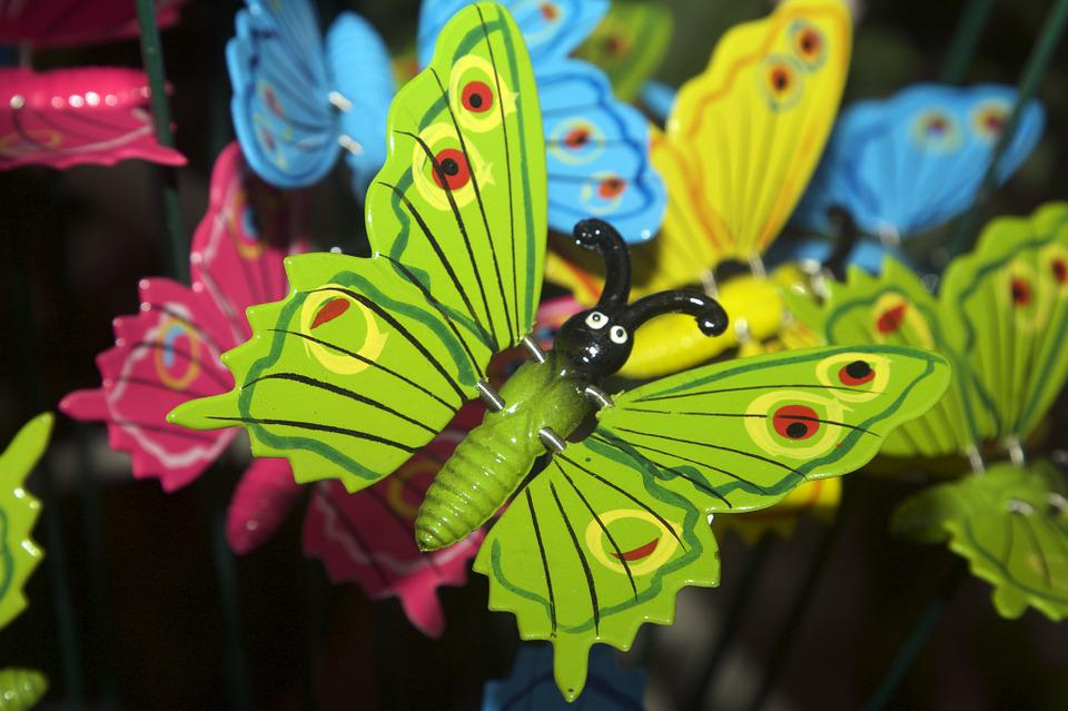 Decoration, Butterfly, Decorative, Deco, Easter