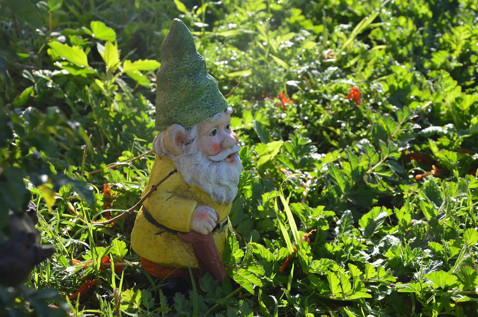 Gnome, Garden, Dwarf, Figure, Elf, Cute, Imp, Deco