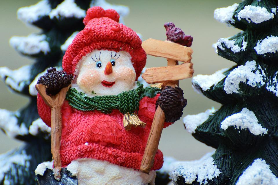 Winter, Snow Man, Fig, Snow, Snowmen, Wintry, Deco