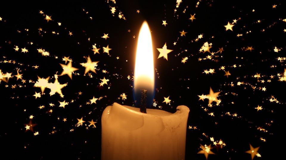 Candle, Christmas, Star, Advent, Christmas Time, Deco