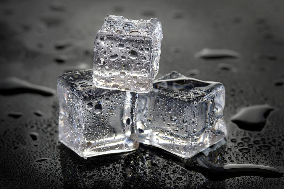 Ice, Artificial Ice, Studio Ice, Macro, Decor