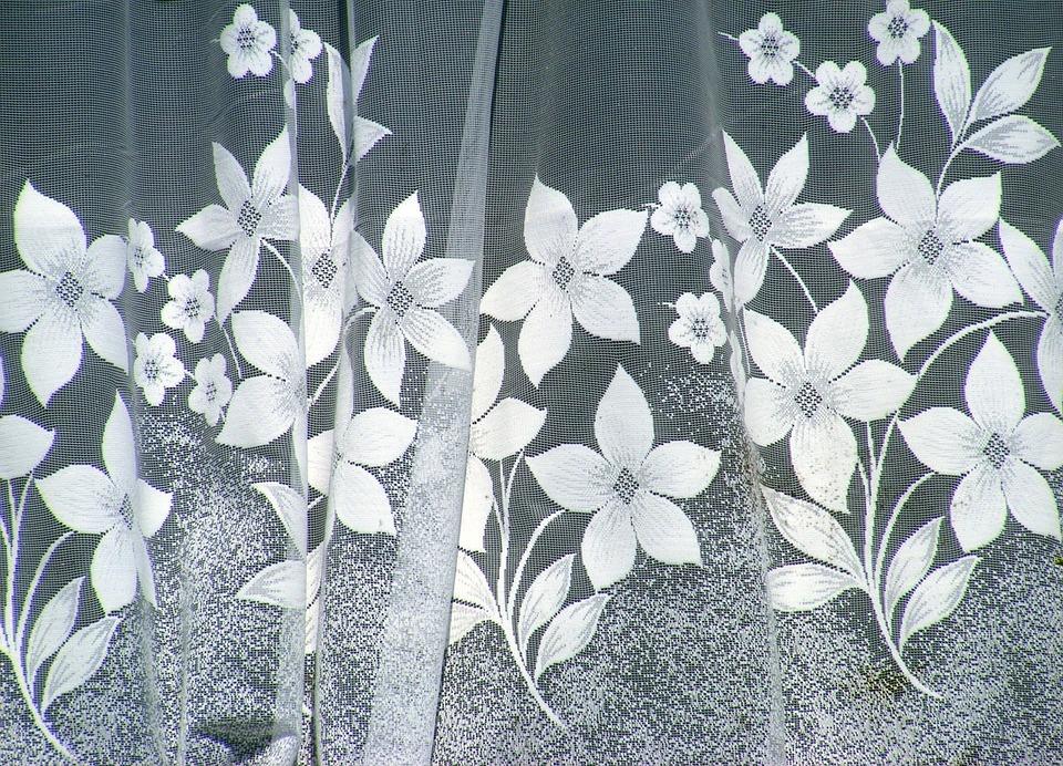 Curtain, Window, Glass, Lace, Decor, Decoration