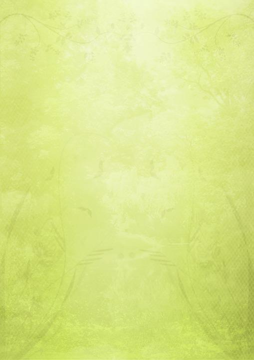 Stationery, Green, Flowers, Spring, Paper, Leaf, Decor