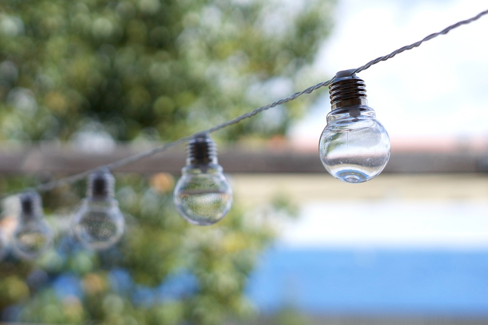 Light Bulbs, Hanging, Lights, Bulb, Decor, Exterior