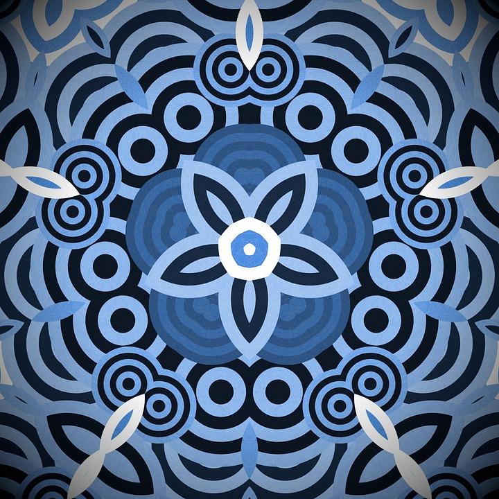 Rosette, Mandala, Ornament, Wallpaper, Decor