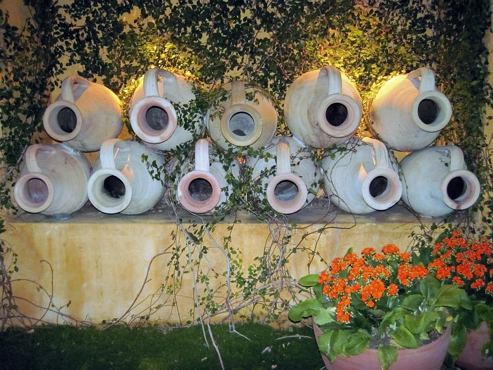 Free Photo Decor Rustic Pots White Pottery Wall Decoration Max Pixel