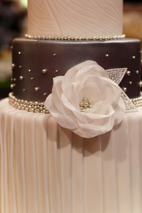 Wedding Cake, Wedding, Detail, Marry, Decor, Cake, Rose