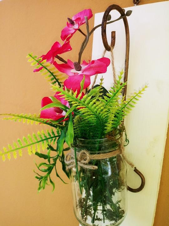 Flores, Flowers, Florero, Rosa, Verde, Decoración