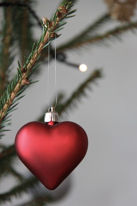 Christmas, Heart, Advent, Christmas Tree, Decoration