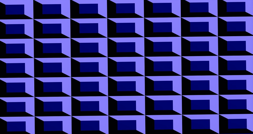 Background, Abstract, Decoration, Blue, Grid