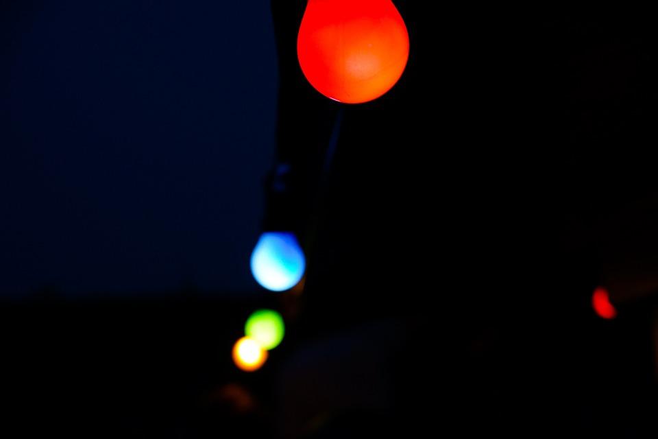 Lights, Bokeh, Blur, Decoration, Garden Lighting
