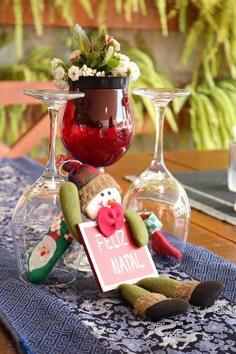 Christmas, Bowl, Arrangement, Decoration