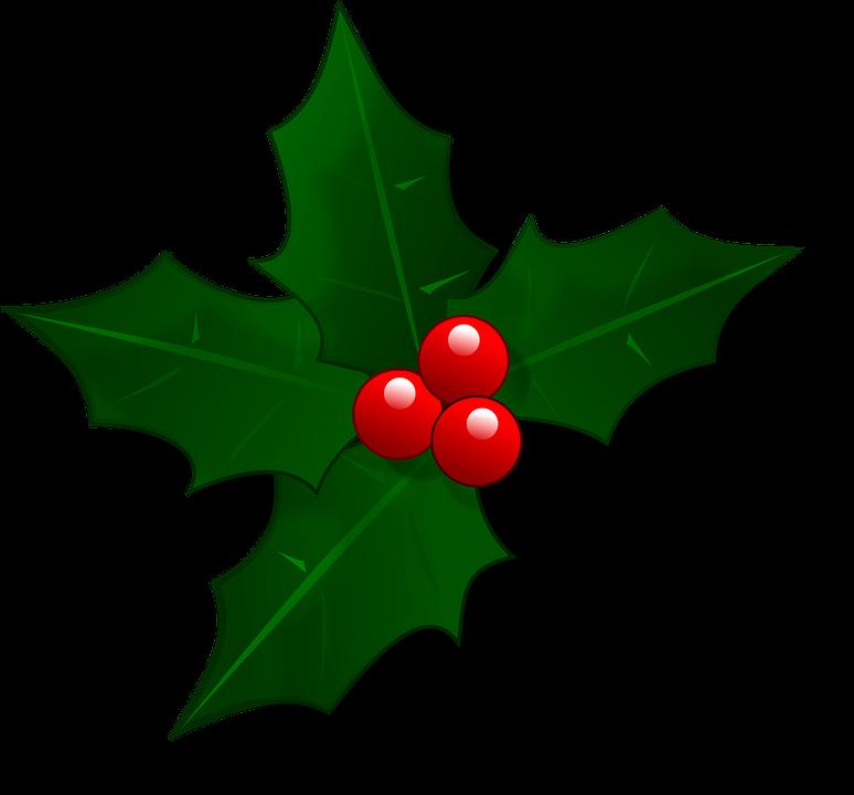 Mail, Christmas, Holly, Xmas, Decoration