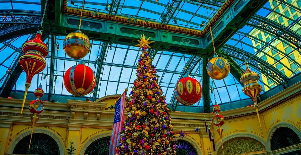 Free photo Decoration Christmas Tree Bellagio Famous Las ...