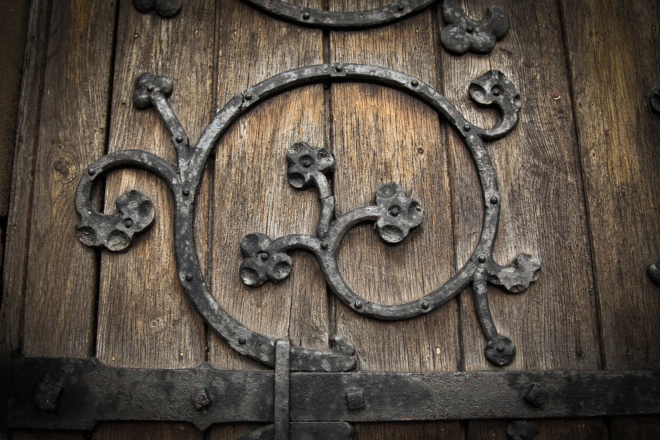 Church, Door, Decoration, Gothic, Entrance, Wood