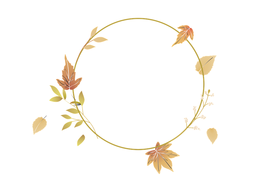Frame, Border, Wreath, Decor, Decoration, Leaves