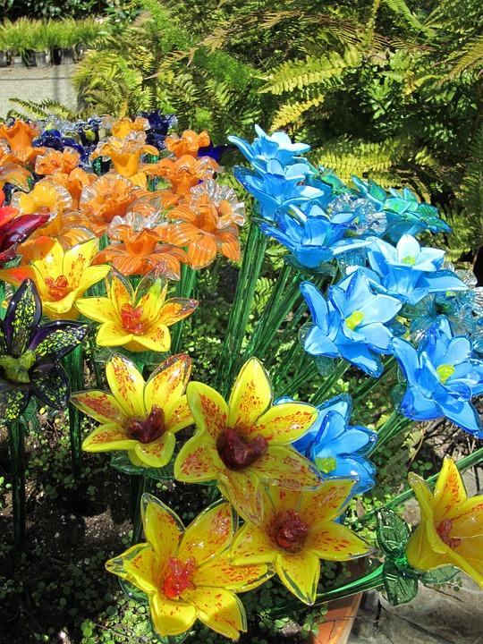 Flowers, Decoration, Garden, Glass, Design, Floral