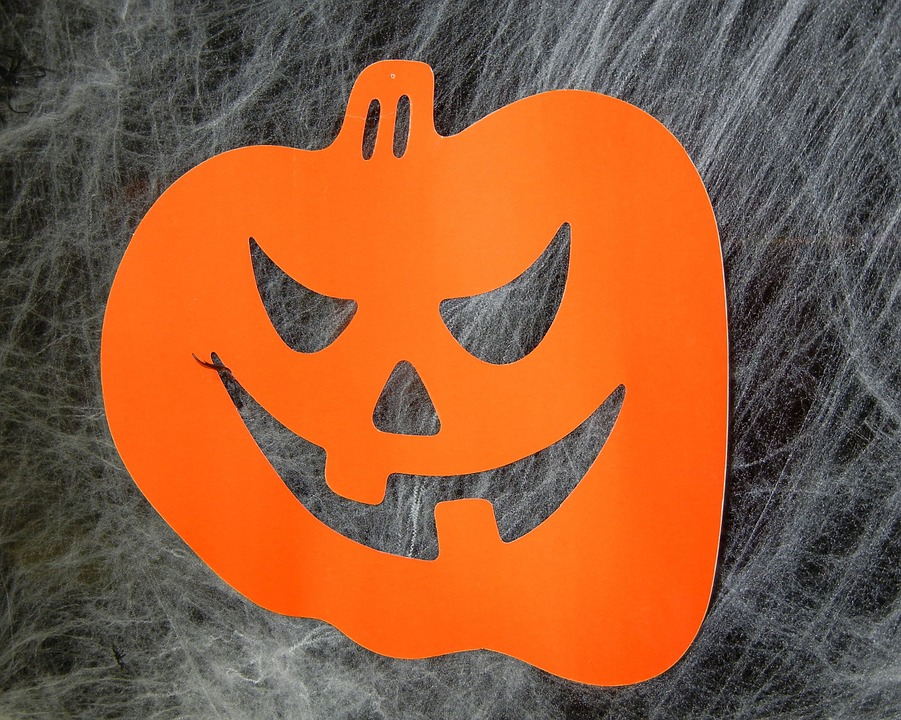 Halloween, Jack O Lantern, Ornament, Paper, Decoration