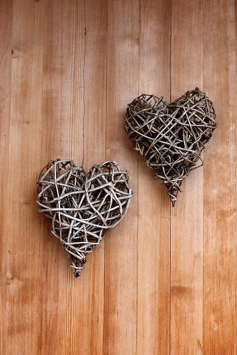 Heart, Deco, Decoration, Love, Still Life, Door