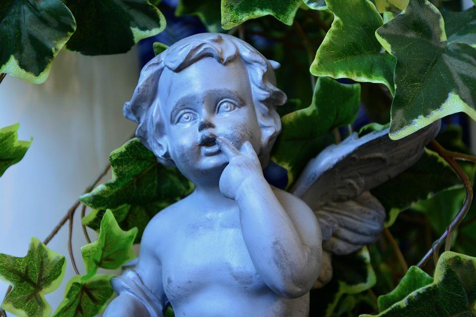 Free photo Décoration Jardin Angel Resin Statue Decorative - Max Pixel