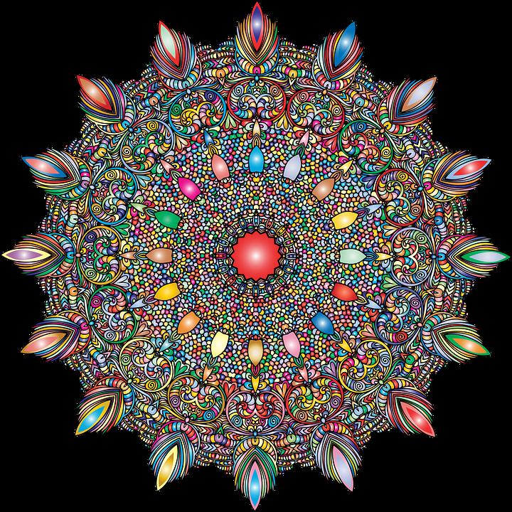 Mandala, Line Art, Decor, Decorative, Decoration