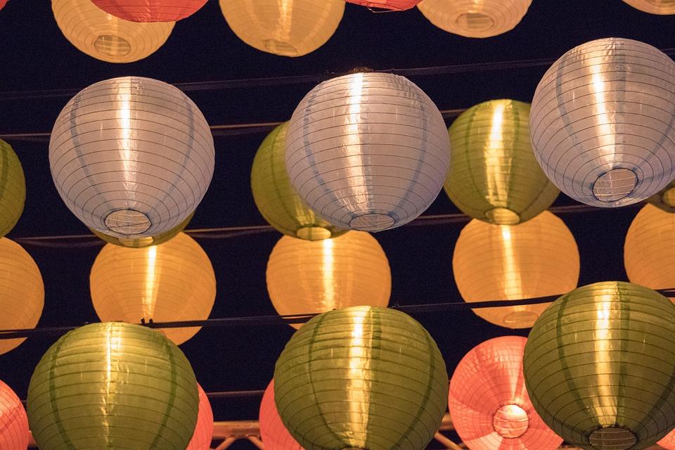 Lantern, Celebration, Decoration, Many
