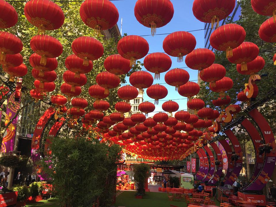 Chinese New Year, Chinese, New Year, Decoration