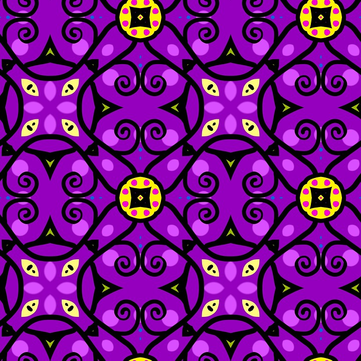 Seamless, Tileable, Pattern, Design, Decoration