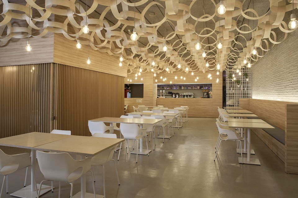 Free photo decoration restaurant bar cafe interior design for Pixel people interior designer