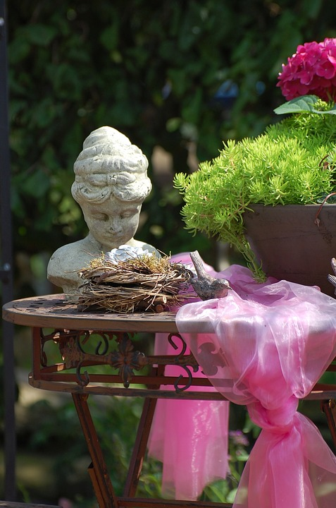 Still Life, Table, Romance, Decoration, Bust