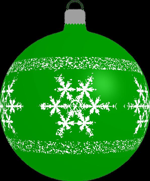 Bauble, Christmas, Decoration, Ornament, Snowflake